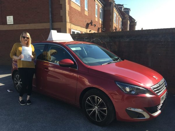 Jade Passes Her Driving Test Today, 19th April 2018, With A Line Driving School