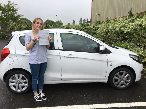 Misha Passes Her Driving Test Today, 26th May 2018, With A Line Driving School