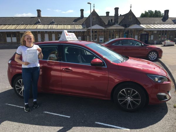 Charlotte Passes Her Driving Test Today, 29th August 2018, With A Line Driving School