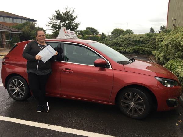 Erin Passes Her Driving Test Today, 20th September 2018, With A Line Driving School