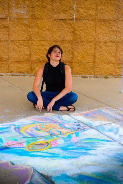 Sophie - Phi The Chalk Girl - Feature Artist