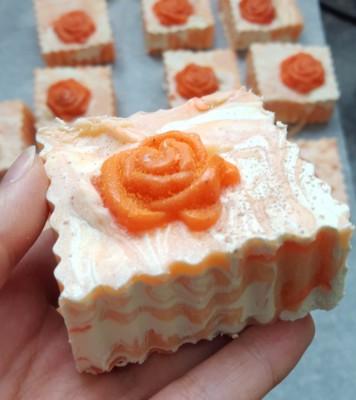 Shimmering Orange Blossom
