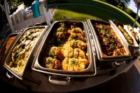 Full-service catering for your wedding event.