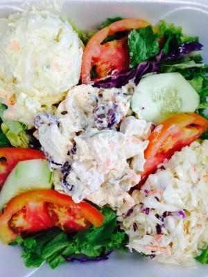 Chicken Salad Cold Plate