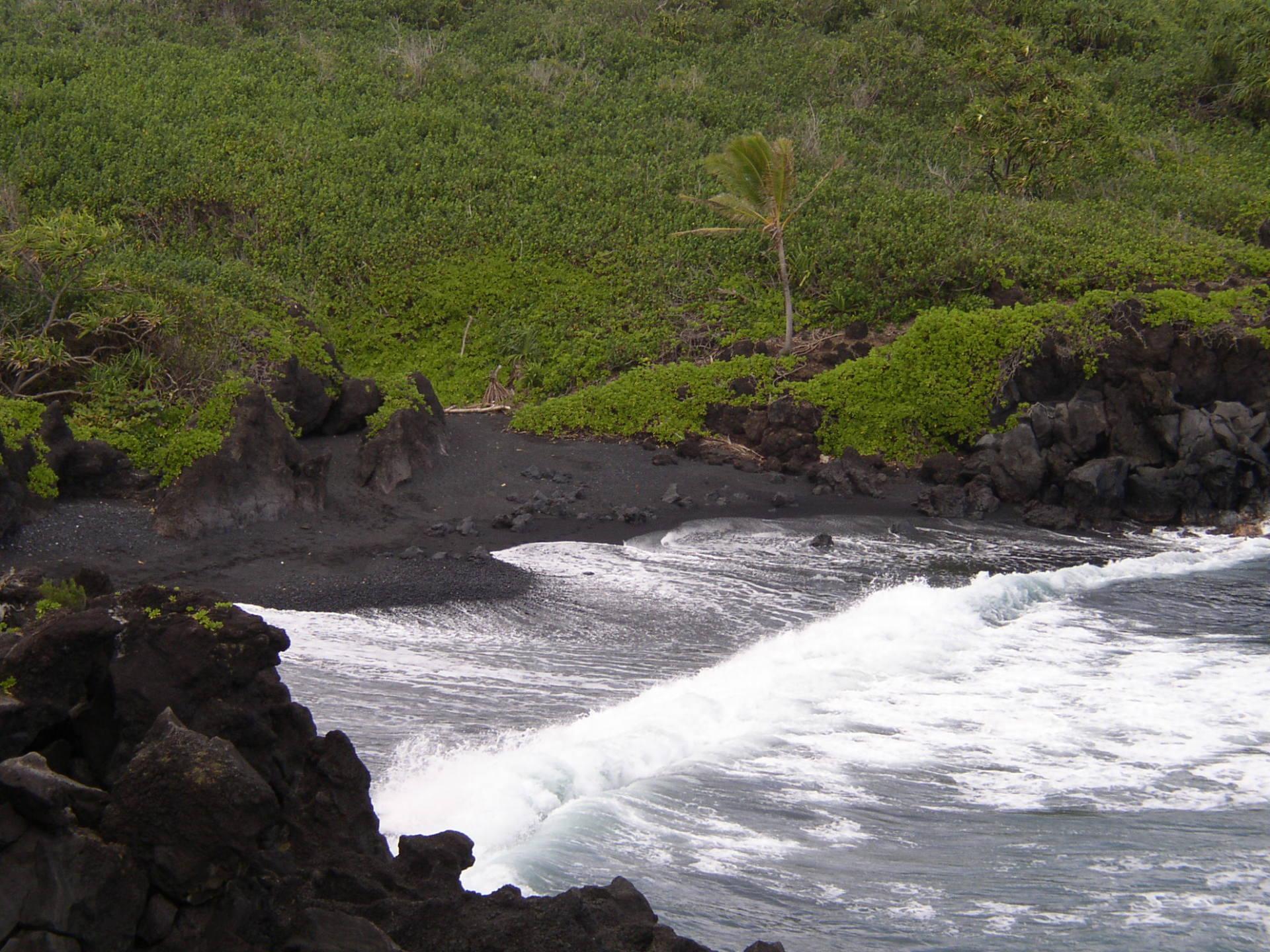Ho'omana, Ho'oponopono, Black Sand Beach, Hana, Maui, Hawaii, Diving Love, Forgiveness