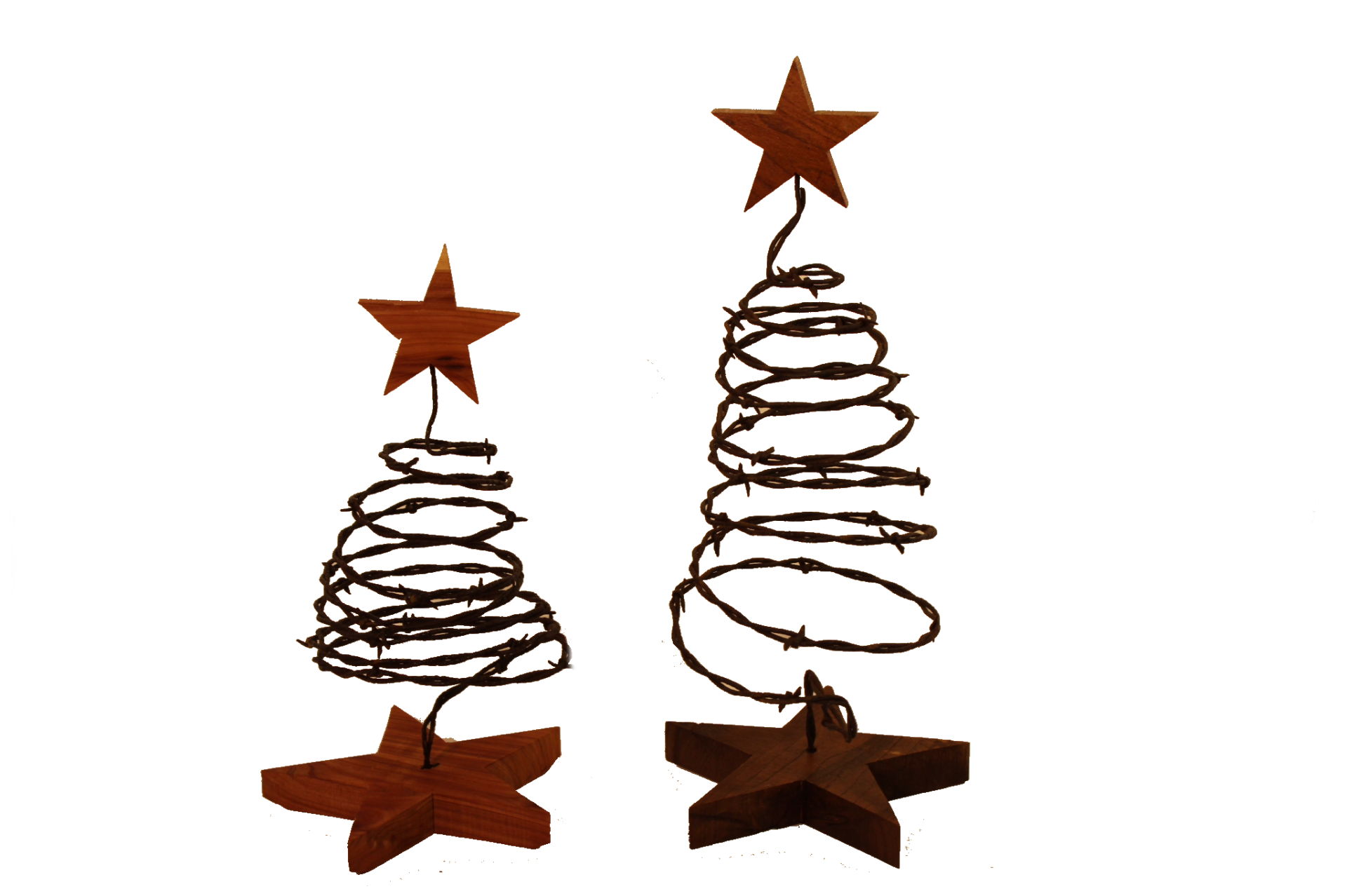 Barbwire Christmas Trees