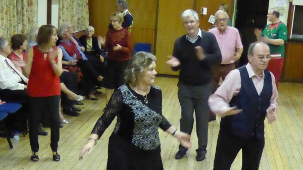 Members Sequence Dancing at Backwell Sequence Dance Club