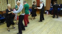 Dancing Bossanonva Blues at Backwell Sequence Dance Cub's Christmas party 2016