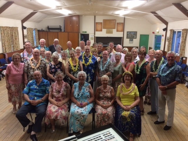Group photo of members at Summer Dance 20 June 2017