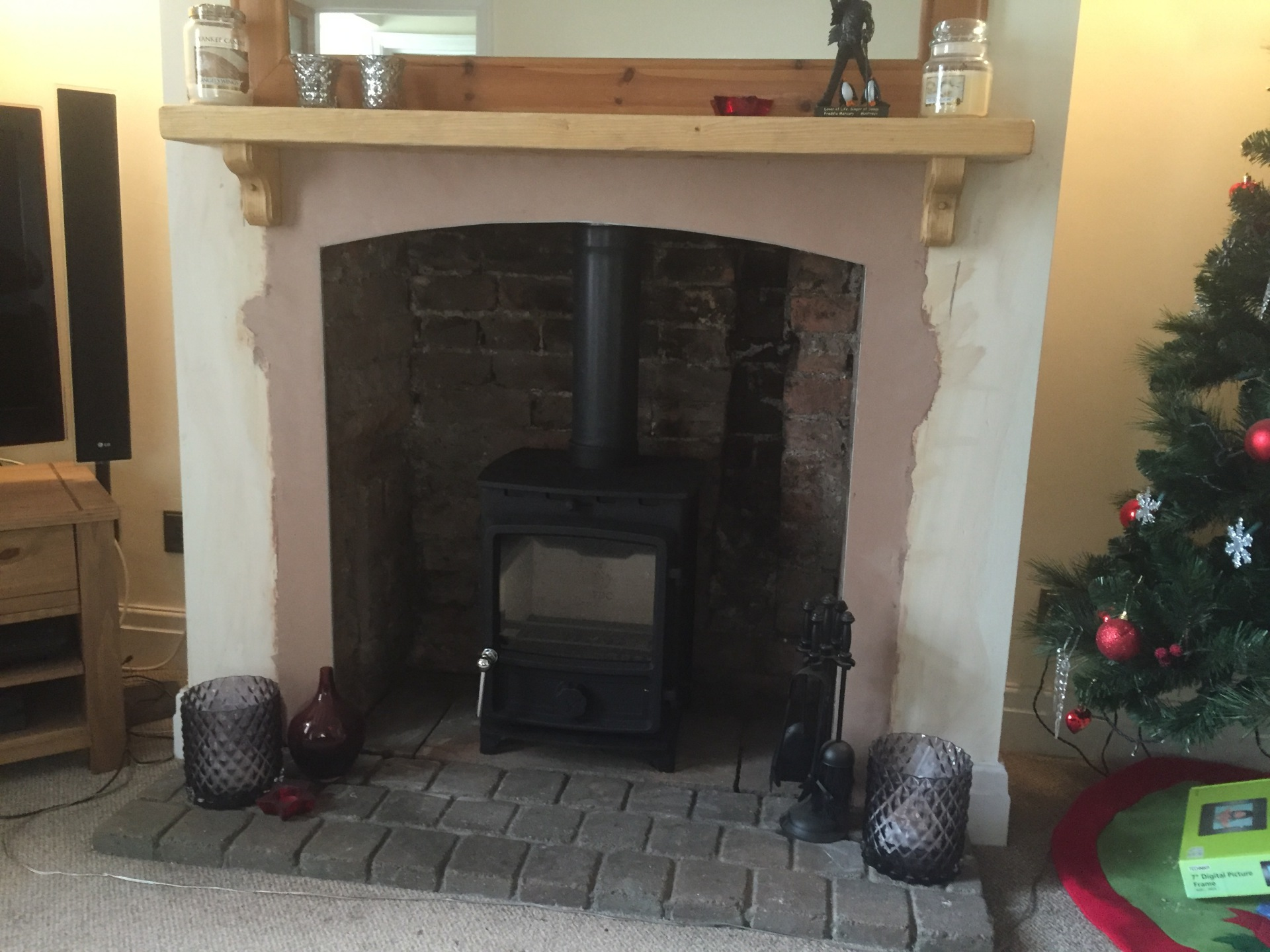 FDC5 Multifuel Stove Installation, stove installer bristol, HETAS, wood burning stove