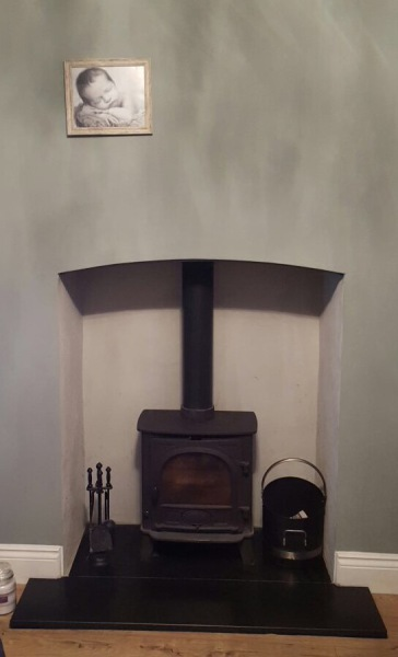 Stovax Stockton 5 Stove installation, wood burning stove installation bristol