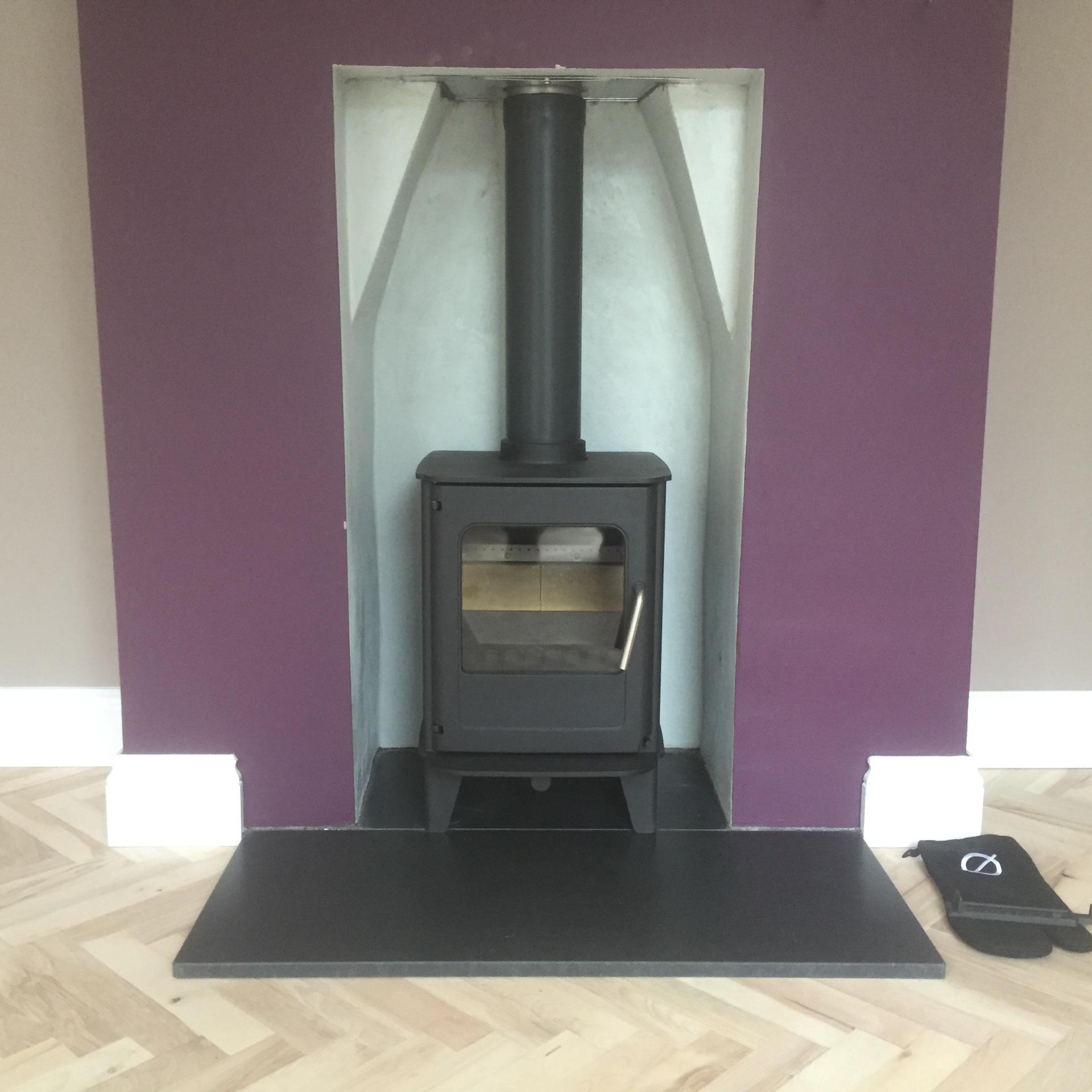 Morso 04 Installation, bristol stove installation
