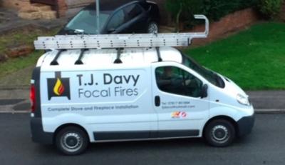 TJdavy Focal Fires, Bristol stove installer, wood burning and multifuel stove installation, fireplace installer