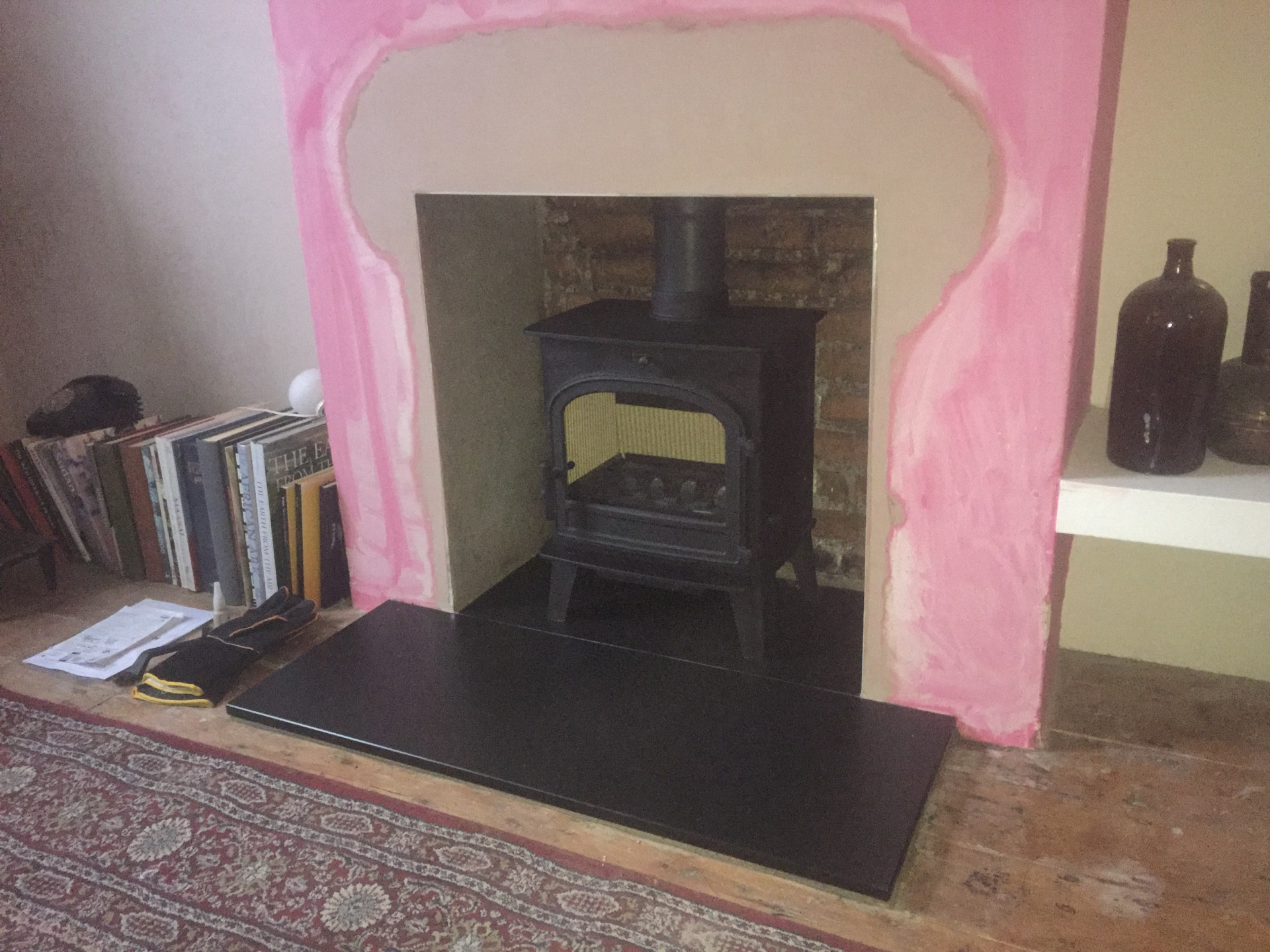 Cleanburn Lovenholm, multifuel stove installation, log burner bristol