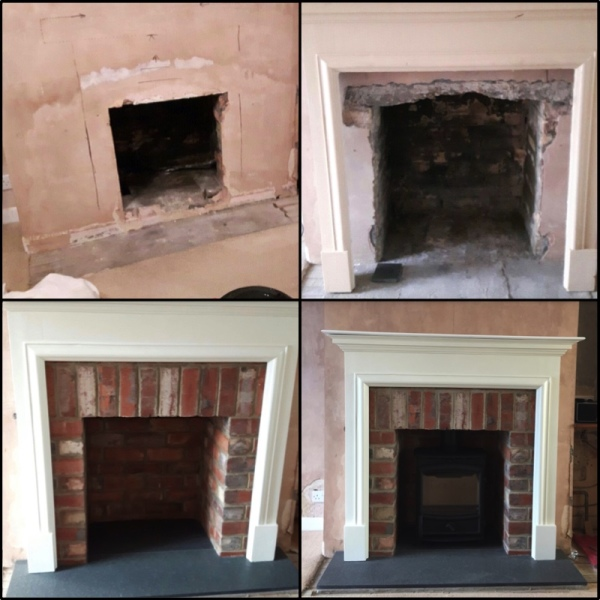 Fireplace, multi fuel stove, wood stove, fireplace installation