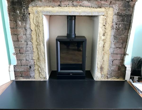 Wood burner, wood burning stove, stove installation Bristol, log burner