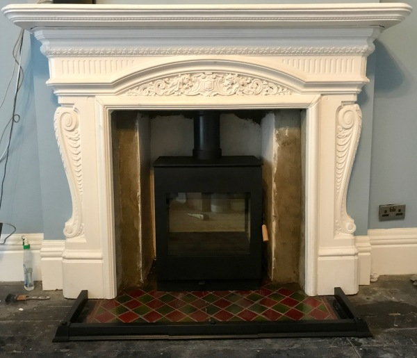 original fireplace, wood burning stove, Bristol stove installer