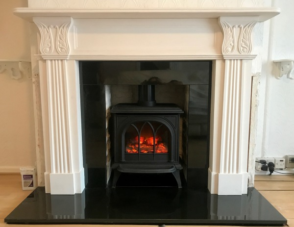 Fireplace installation, Bristol fireplace installer, electric stove