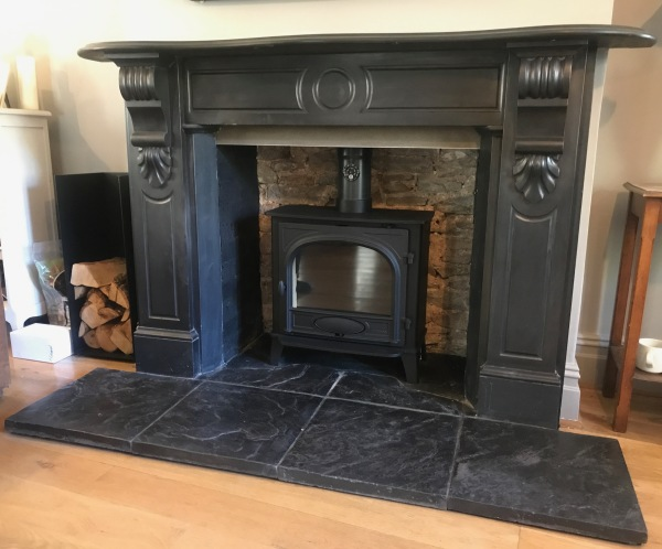 Fireplace installation, wood stove, bristol stoves