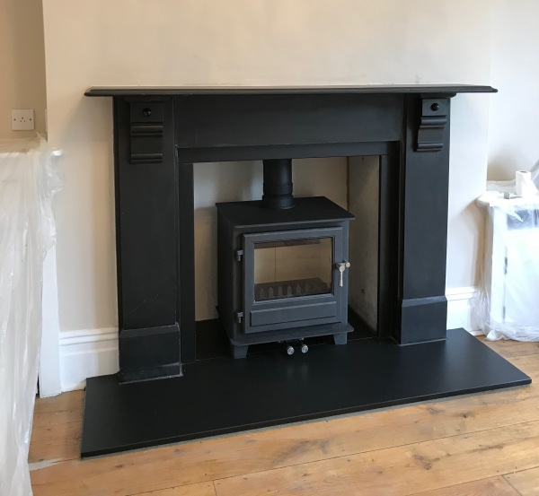 multifuel stove, wood burner, log burner, fireplace installation