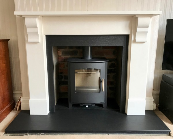 Fireplace installation, multifuel stove, bristol wood burners