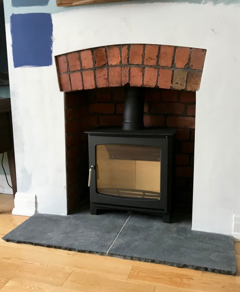 wood burner installation, log burner, stove