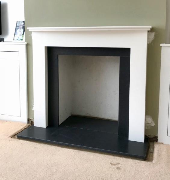 fireplace installation bristol, granite hearth