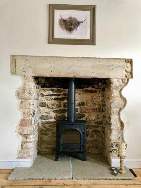 wood burning stove, log burner installation, stove install