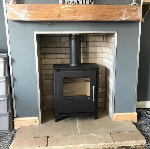 Multifuel stove installation, fireplace install bristol
