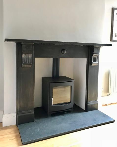 Wood burning stove, fireplace installation, log burner bristol