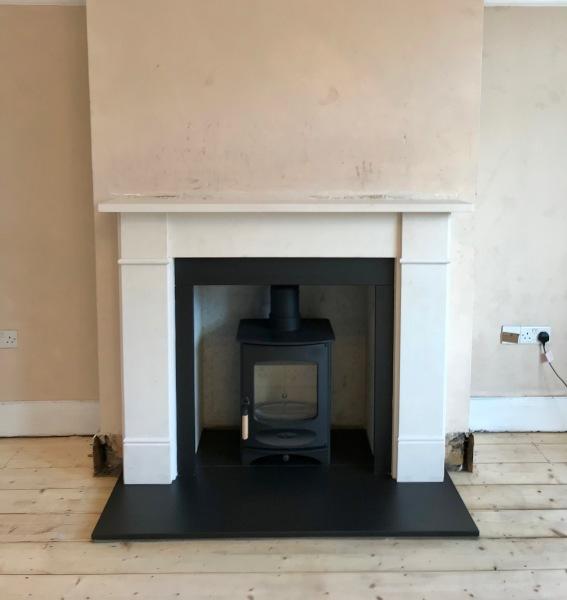 Fireplace installation, wood burner installation bristol