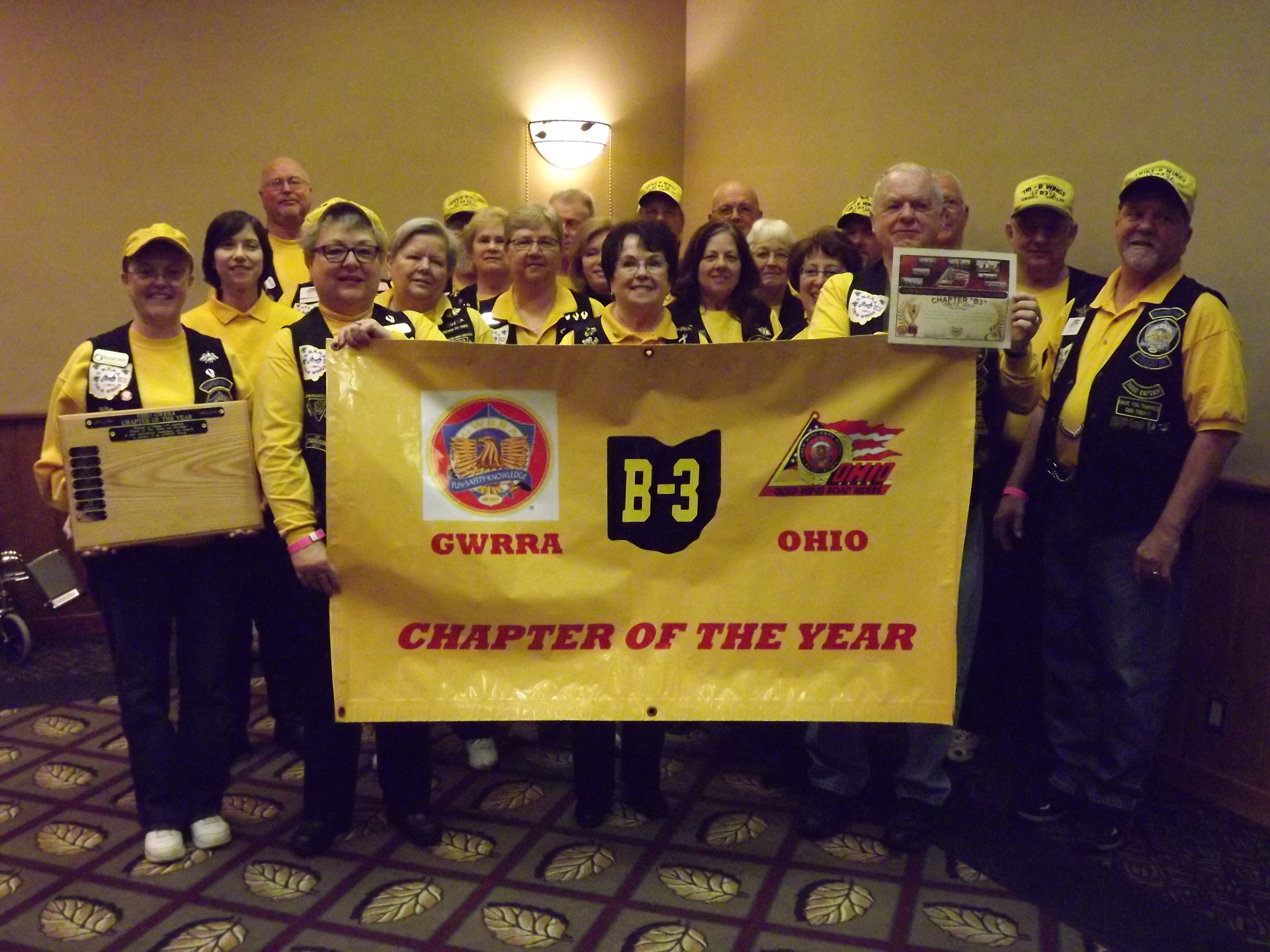 Chapter of the Year for 2013