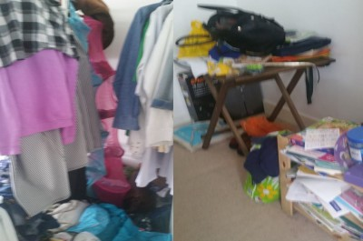 What clutter can look like.
