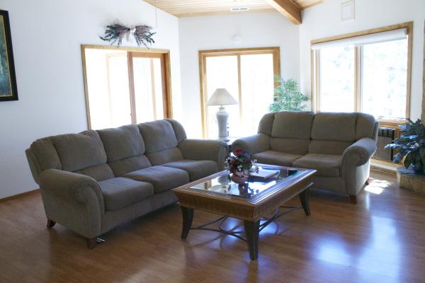 Main area seating