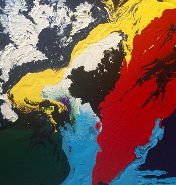 'Kaleidoscopic World I'
