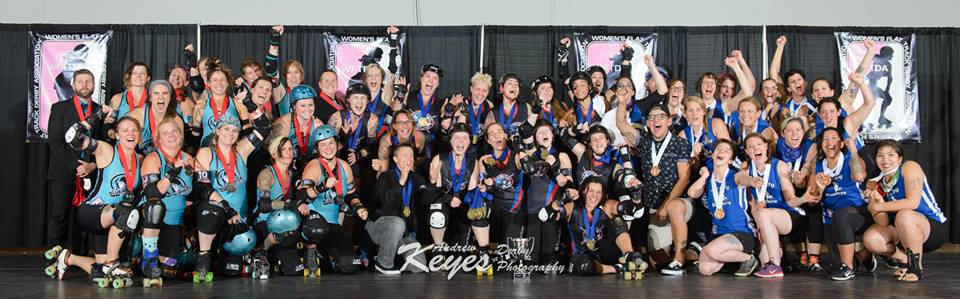 Brandywine Roller Derby Brings the Gold Home to Chester County