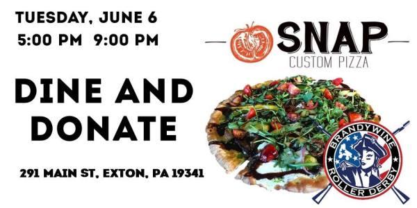 BRD Dine & Donate at Snap Custom Pizza
