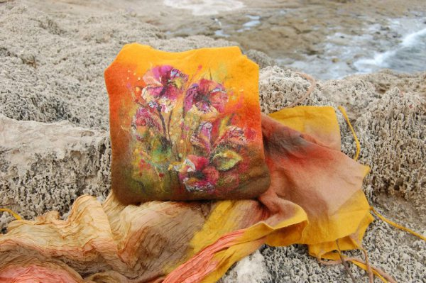 Felted Bag and scarf