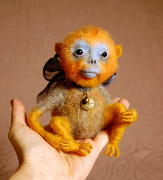 Monkey the toy