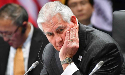 Out of the loop: Rex Tillerson finds state department sidelined by White House