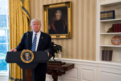 President Trump in the Oval Office. Credit Doug Mills/The New York Times