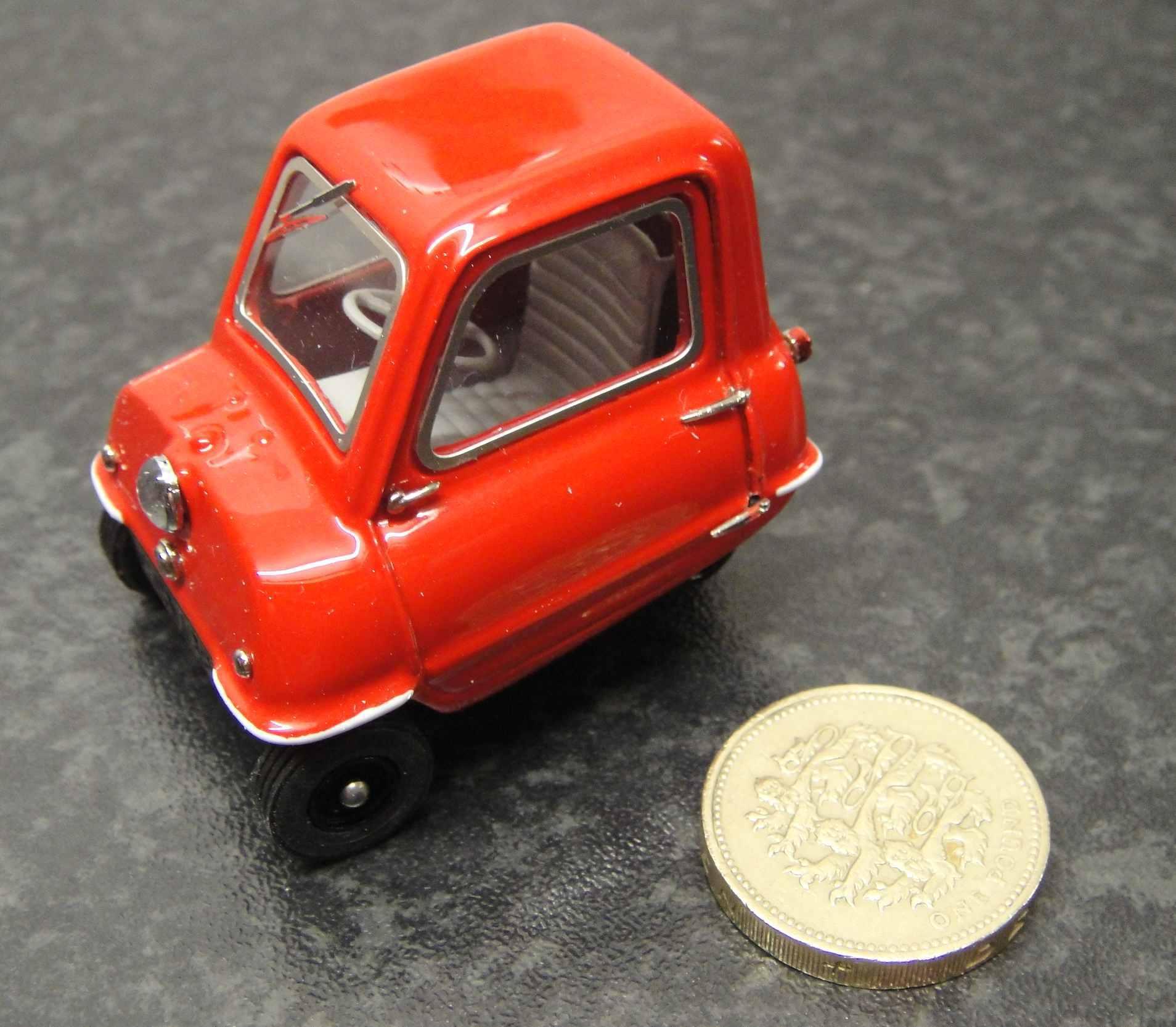Peel P50 diecast model.