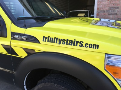 Trinity Stairs Flatbed Truck