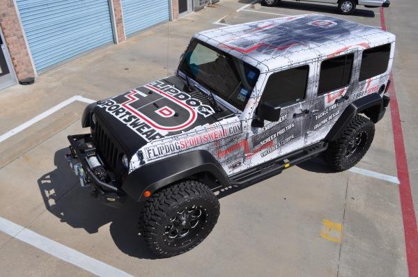 FlipDog Sportswear Jeep Wrangler Wrap
