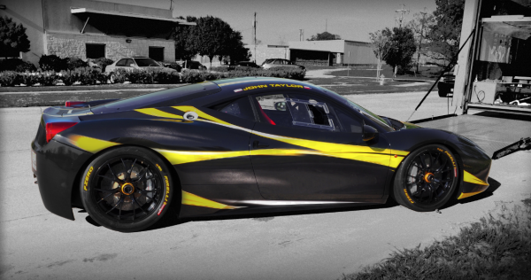 Best Ferrari wrap, car wrap Plano, color change vehicle wrap, car wraps texas