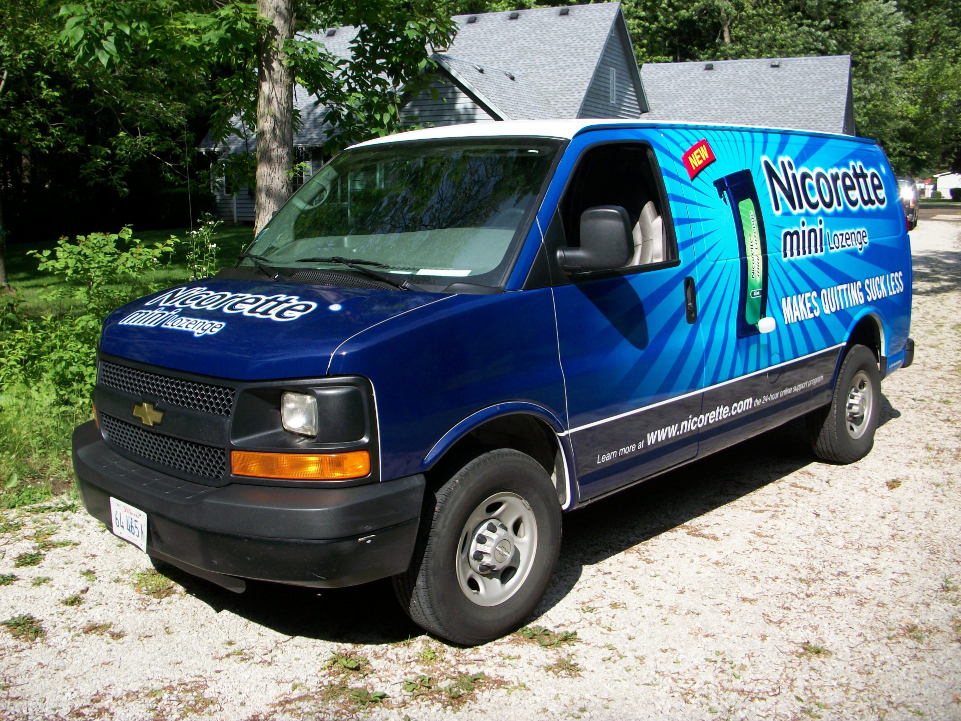 Dallas Van wrap Plano