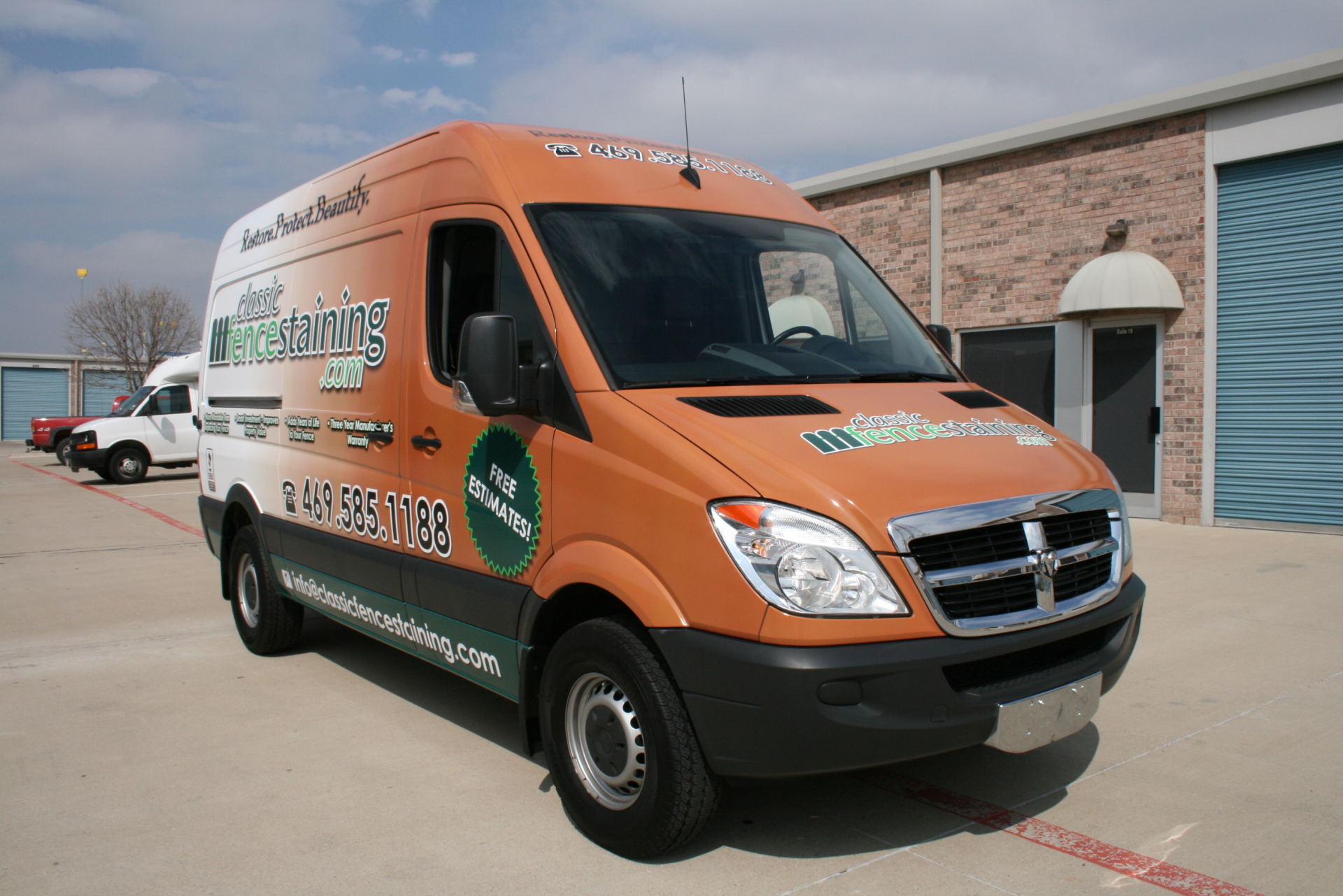 Mercedez Sprinter wrap Dallas