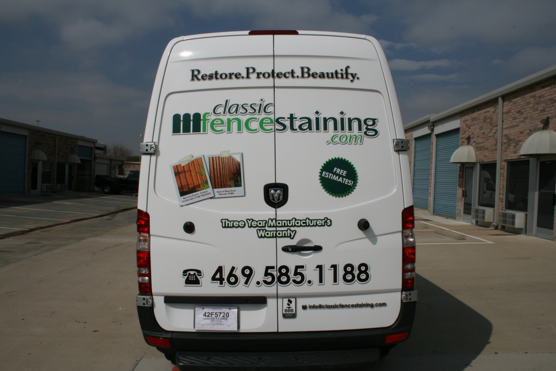 Sprinter van wrap Plano Texas