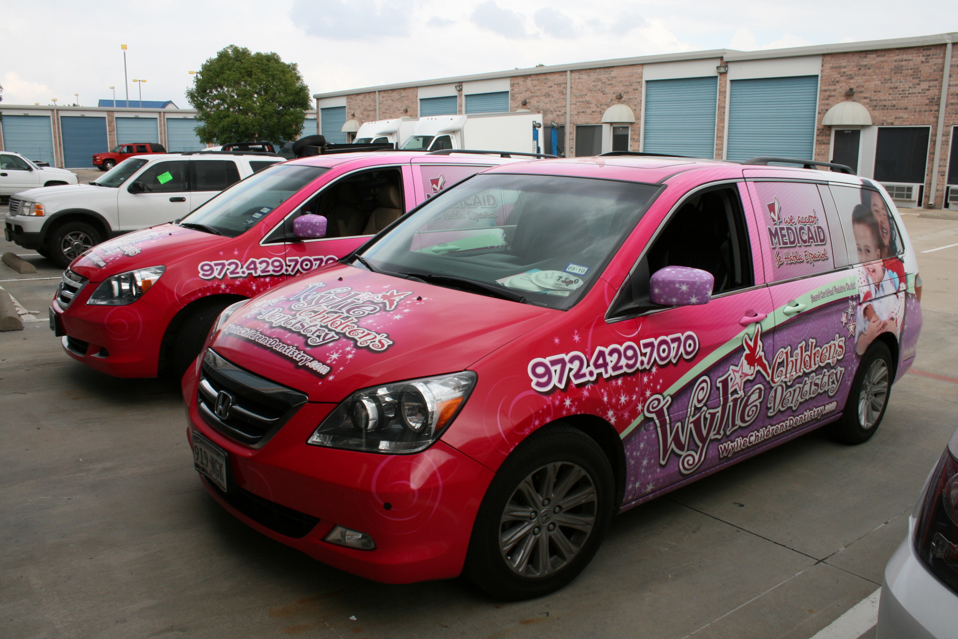 Mini Van Wrap Fleet Dallas Ft Worth