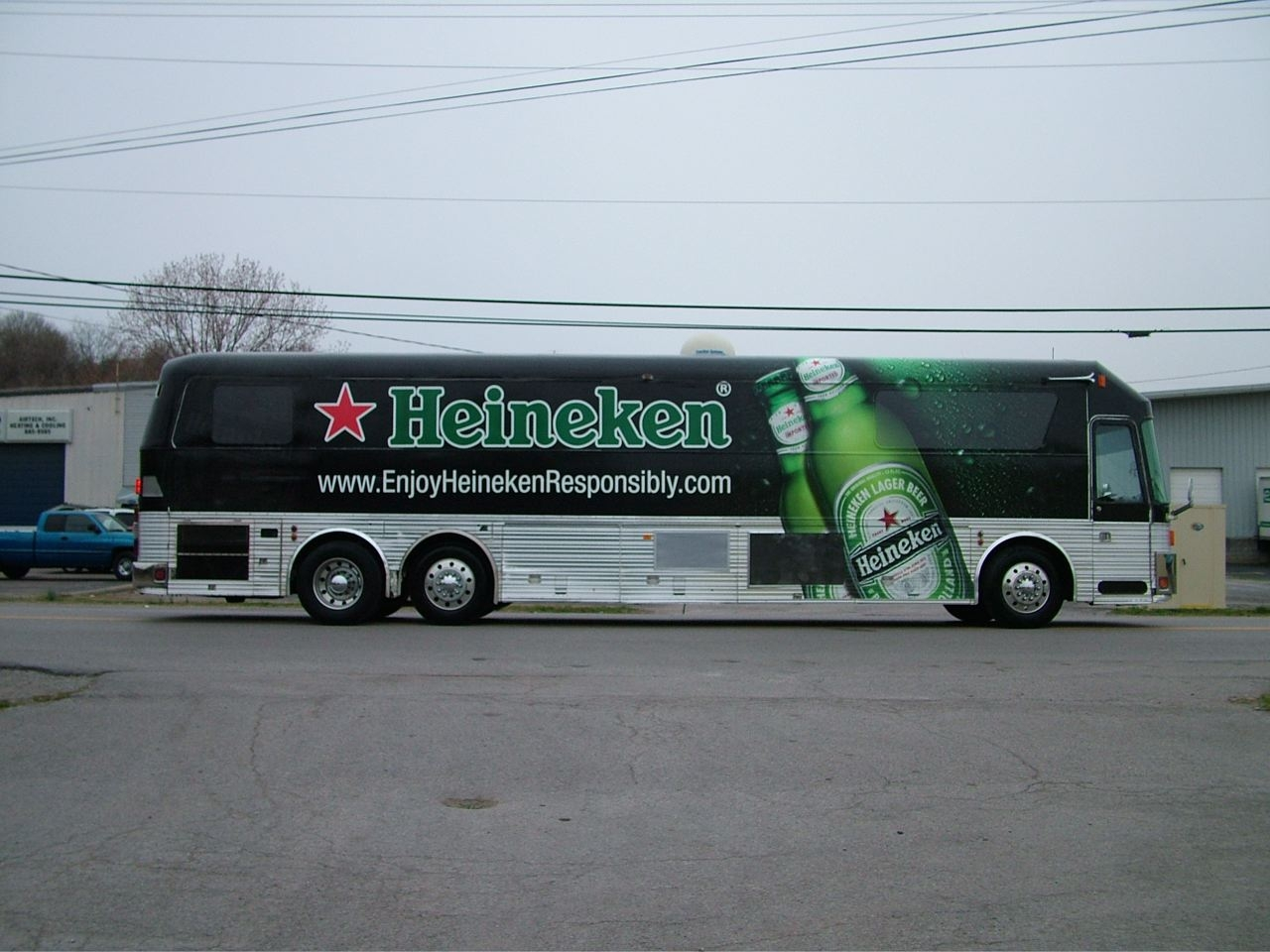 Heineken Bus Wrap